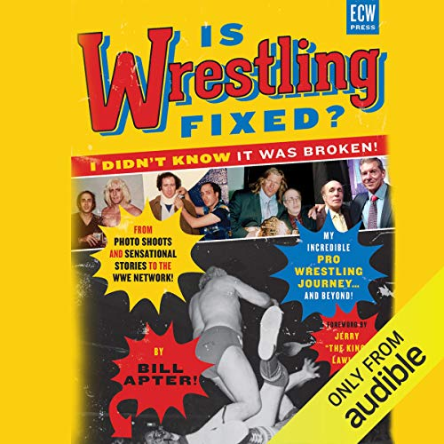 Is Wrestling Fixed? audiobook cover art