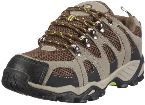 Ultrasport Hiker Unisex Erwachsenen Outdoor – Trekking – Wander - Nordic Walking Schuhe, Grün (Olivegreen/brown 140), 38 EU, (5 UK)