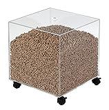 Les Ateliers Dixneuf - Cubo de almacenaje para gránulos de madera, ref. 005.4101