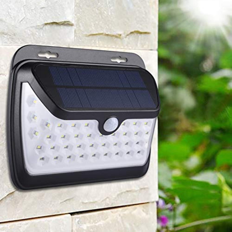 LED Light CELINEZL Intelligenter PIR-Bewegungssensor weies Licht LED-Solarlicht, 42 LEDs SMD 2835 Sicherheits-Energiesparlampe mit 1,3 W Solarpanel