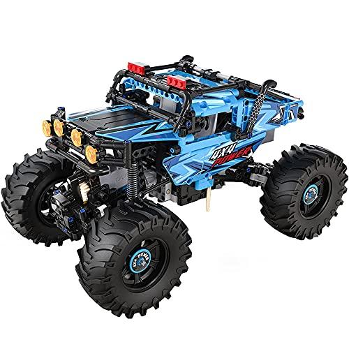 ADSVMEL RC Drift Desert Cars 2.4GHz Radio Control Remoto Camión Bigfoot Monster Truck Todo Terreno Sin Escobillas Carreras Rápidas de Alta Velocidad para Niños de 8-12 Años de Edad Regalos de Hobby
