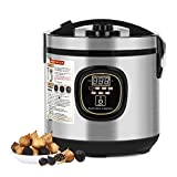 NEX 6L Black Garlic Fermenter, Full Automatic Garlics Maker Intelligent Garlic Cooker, Large Capacity, Grey