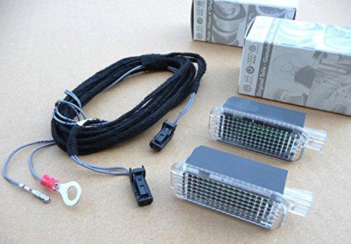 LED Fußraumbeleuchtung passend für A4 A5 Q5 zur Nachrüstung vorn Leuchten