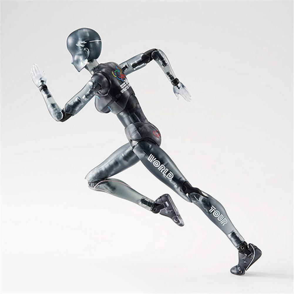Klinkamz Body-Kun/Chan DX PVC macho/hembra Figura de acción Modelo para SHF niños niños coleccionista juguete regalo Female: Amazon.es: Hogar