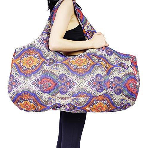 Aozora Yoga Mat Bag Large Yoga Mat Tote Sling Carrier