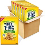 Wheat Thins Reduced Fat Whole Grain Wheat Crackers, 6 - 8oz Boxes, 6Count