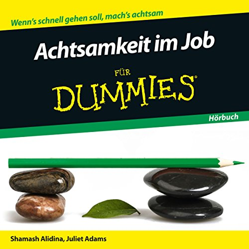 Achtsamkeit im Job für Dummies audiobook cover art