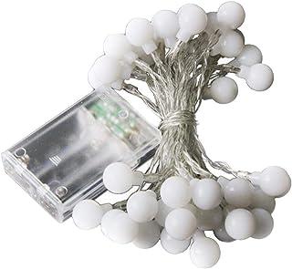 GUOJIAYI LED زهرة الكرة الأرضية سلسلة ضوء عيد الميلاد في الهواء الطلق حفلة الزفاف عيد الميلاد الديكور ضوء ليلي ملون
