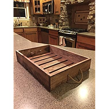 Darla'Studio 66 Antique Style Wooden Serving Tray