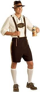 Unbranded Oktoberfest Lederhosen German Bavarian Beer Festival Halloween Mens Costumen Bavarian Beer Festival Halloween Mens Costume