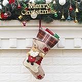 PPTS decoraciones de Navidad y adornos regalos de Año Nuevo Santa muñeco de nieve calcetines de Navidad calcetines bolsa de regalo