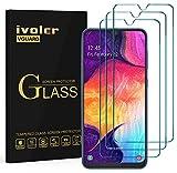 VGUARD [3 Pack] Filme de Vidro Temperado para Samsung Galaxy M30 / A50 / A30 [Garantia Vitalícia], Protetor de Tela Película Protetora para Samsung Galaxy M30 / A50 / A30