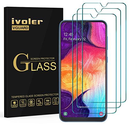 VGUARD 3 Stücke Panzerglas Schutzfolie für Samsung Galaxy A50 / A30S / M31 / M30S / M21, Panzerglasfolie Folie Displayschutzfolie Hartglas Gehärtetem Glas für Samsung A50 / A30S / M31 / M30S / M21