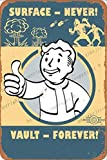Cimily Fallout 4- Surface Never Vault Forever Vintage
