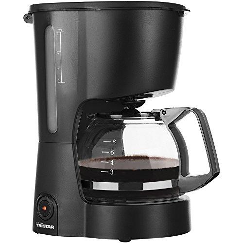 Tristar Kaffeemaschine mit 600 ML Fassungsvermögen - ideal für Campings geeignet [für bis zu 6 Tassen, mit automatischer Abschaltfunktion und Wasserstandsanzeige], CM-1246