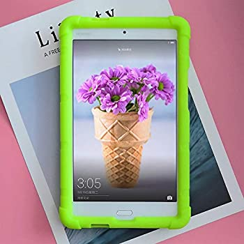 MingShore Case for Huawei MediaPad M3 Lite 8 Tablet Cover CPN-W09 CPN-L09 8.0 Inch Tablet Silicone Rugged Case Green