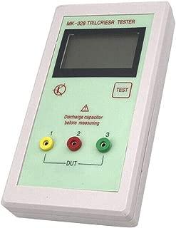 globeagle MK-328 Transistor Tester Diode Triode Capacitance Resistor Resistance Meter
