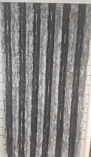 Flauschvorhang Türvorhang 100x200cm Chenille Fliegenschutz Insektenschutz Camping