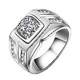 ZAKAKA 指輪 メンズ リング ファッション アクセサリー [ギフトボックスを提供] 14号 16号 18号 21号23号25号を提供 (16)