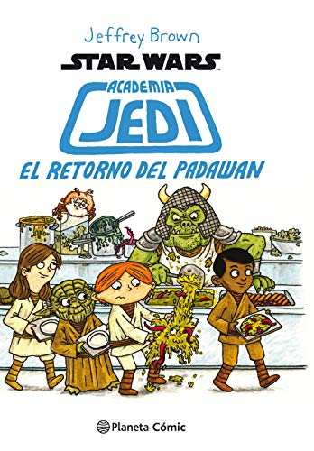 Star Wars Academia Jedi nº 02/03: El retorno de Padawan (Star Wars Jeffrey Brown)