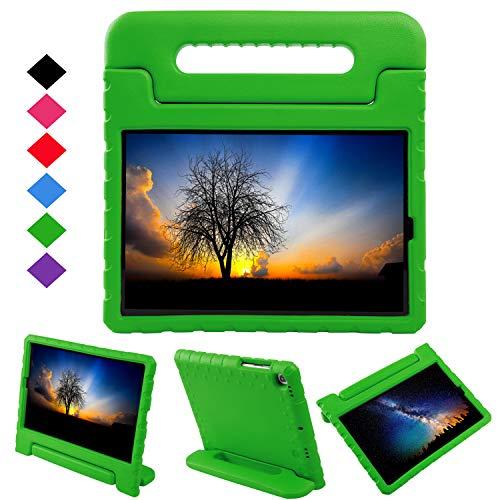 NEWSTYLE Case for Samsung Galaxy Tab S5e 10.5 Inch 2019,Premium EVA Kids Case Light Weight Convertible Handle Stand Cover for Galaxy Tab S5e SM-T720/SM-T725 2019 Tablet (Green)