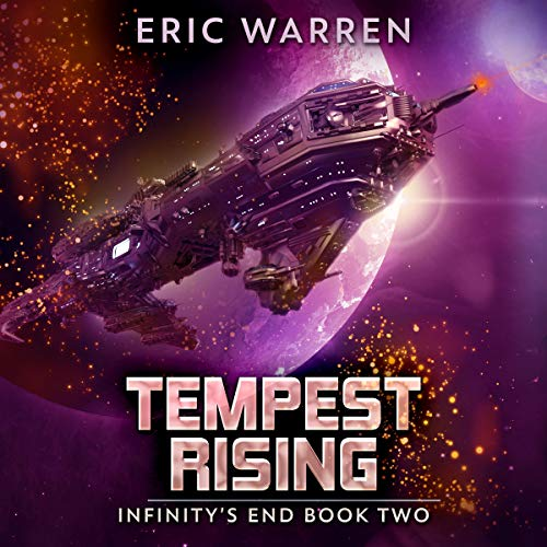 Tempest Rising audiobook cover art