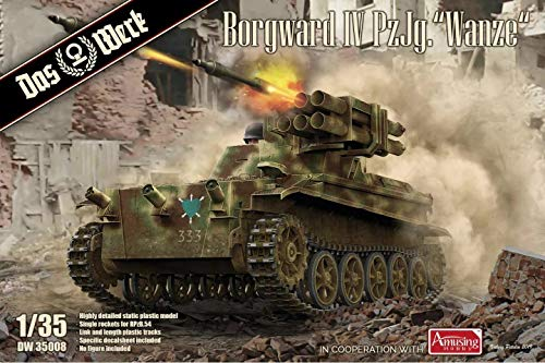 Das Werk DW35008 1/35 Borgward IV PzJg Wanze