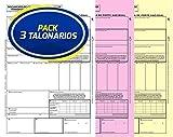 Pack 3 Talonarios Carta de Porte Nacional Autocopiativos Anónimos | Acordes a la legislac...