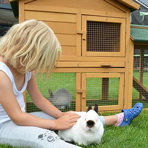 Stall Nr 1 Kaninchenstall Hasenstall Kaninchenkäfig Hasenkäfig Meerschweinchenstall - 8