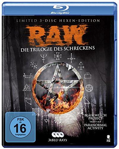 Raw - Die Trilogie des Schreckens (3 Blu-rays)