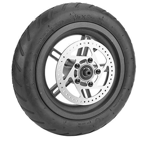 Reifen for Xiaomi - MAGT Hinterradreifen Scheibenbremse Reifen 9,8 Zoll hinten Reifen-Rad-Ersatz Kompatibel mit Xiaomi Mijia M365 Elektro-Scooter