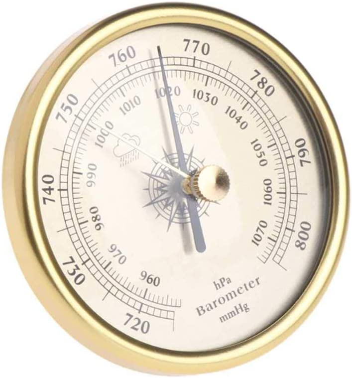 FLJKCT Wall Sacramento Mall Mounted Household Thermometer Hygrometer W Barometer Max 67% OFF