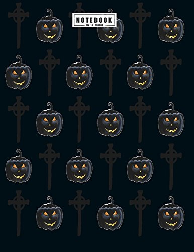 Notebook: Halloween collection cover and Dot Graph Line Sketch pages, Extra large (8.5 x 11) inches, 110 pages, White paper, Sketch, Draw and Paint (Halloween collection notebook, Band 5)