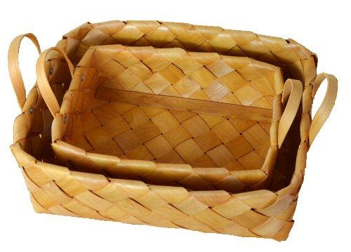COLORS 収納かご ノルディックバスケット 03 2個組 ブラウン 47657