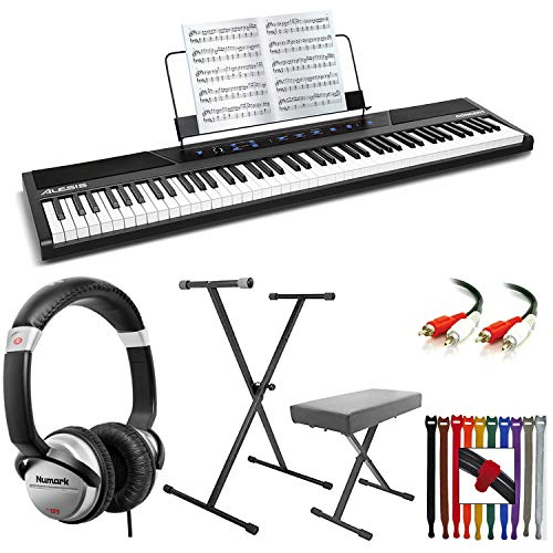 Buy Cheap Alesis Concert 88-Key Digital Piano with Full-Size Semi Weighted Keys With Touch Response ...