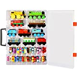 ALCYON Toy Organizer Storage Case Compatible with Thomas & Friends MINIS Engines/ MINIS Toy Trains/ Trackmaster/ Fisher-Price and More. (Box Only)