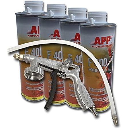 4liter Hohlraumversiegelung Inkl Pistole Und Hohlraumsonde Für Hohlraumkonservierung Auto