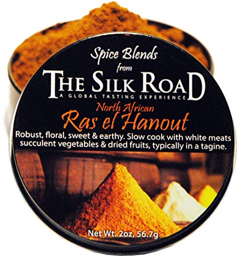 North African Ras el Hanout Spice Blend from The Silk Road Restaurant & Market (2oz), No Salt | All Natural Moroccan Seasoning | Vegan | Gluten Free Ingredients | NON-GMO | No Preservatives