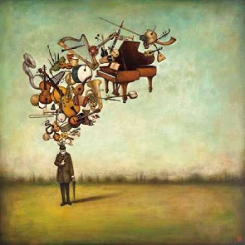 Duy Huynh – Thanks for The Melodies Kunstdruck (30,48 x 30,48 cm)