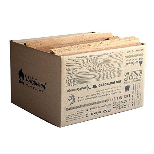 Kiln-Dried Cedar Kindling – Medium Hearth Box, Perfect for...