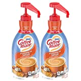 Nestle Coffee mate Coffee Creamer, Pumpkin Spice, Concentrated Liquid Pump Bottle, Non Dairy, No Refrigeration, 50.7 Fl. Oz. (Pack of 2)