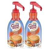 Nestle Coffee mate Coffee Creamer, Pumpkin Spice, Liquid Pump Bottle, 50.7 Ounces (Pack of 2)