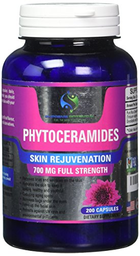 Supreme Potential Phytoceramides, 200 Capsule Supply, 700mg Phytoceramides per Serving