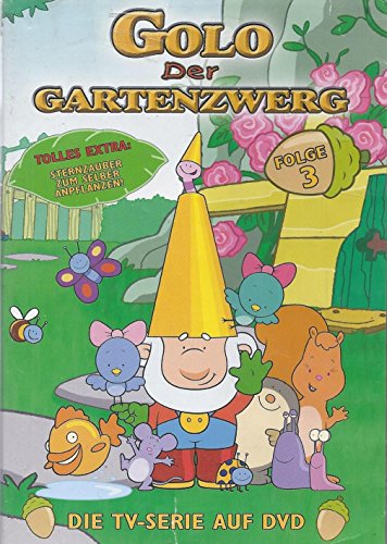 Golo - Der Gartenzwerg - DVD. Die Original-DVD zur TV-Serie