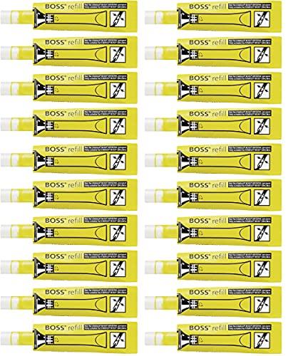 Ricarica per Evidenziatore - STABILO BOSS ORIGINAL Refill - Confezione da 20 - Giallo