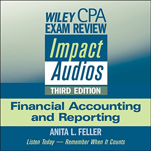 Wiley CPA Exam Review Impact Audios cover art