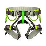 HGXC Arnés de Escalada de Medio Cuerpo para Adultos, arnés de cinturón de Seguridad de Escalada Ligero para Escalada en Roca, montañismo, Rappel