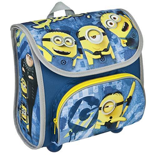 Minions Cutie Vorschulranzen - Rucksack für Kindergarten und Vorschule, mit Brustgurt, Kleiner, Leichter Schulranzen für Jungen und Mädchen