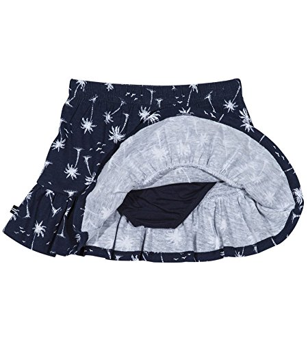 Nautica Girls' Toddler Pull on Fashion Skort, Navy Palm Trees, 2T