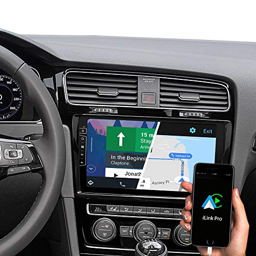 DYNAVIN DX-V-3B 10,1 Zoll Autoradio Navi GPS Navigation : Unterstützung von DAB + Digitalradio iOS Android Auto BT Rückfahrkamera Ready USB Für VW Golf 7 / Golf VII ab 2012